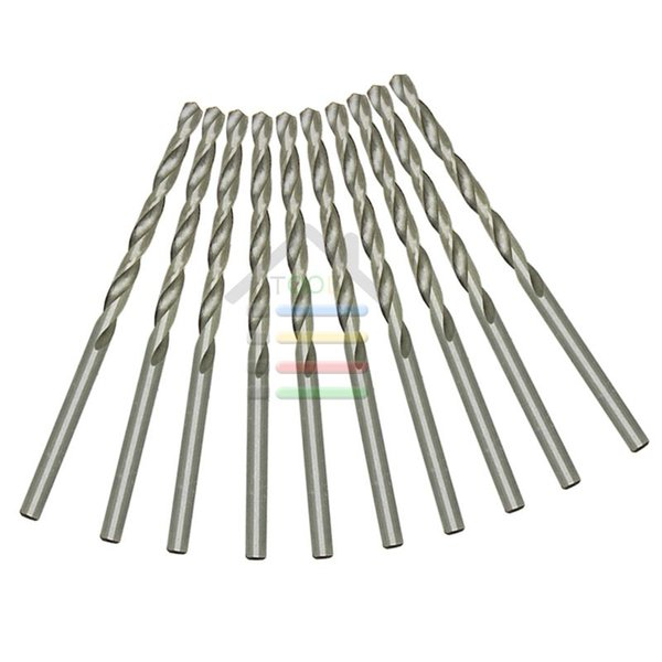 10Pc/Set Straight Shank 3mm Micro HSS Twist Drill Bits Drilling Auger For Electrical Hand Drill Dremel Jobber Hobby Tools order<$18no track