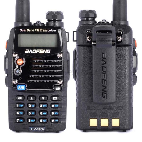 Gros-2016 nouvelle marque Baofeng UV-5RA uv5ra talkie-walkie VHF / UHF 136-174 / 400-520HZ jambon Deux voies radio UV-5R Cb jambon radio émetteur-récepteur
