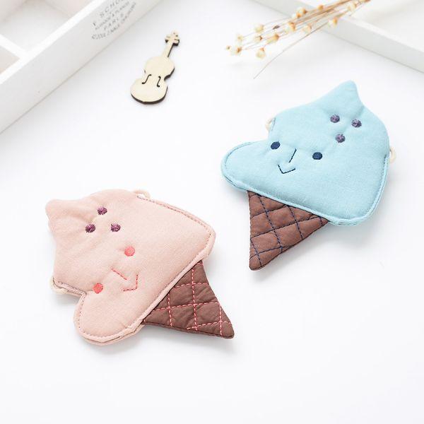 Cute Ice Cream Style Kids Messager Bag Cartoon Kids Messager Wallet Lovely Exchange Purse Kids Coin Bag Kids Purse