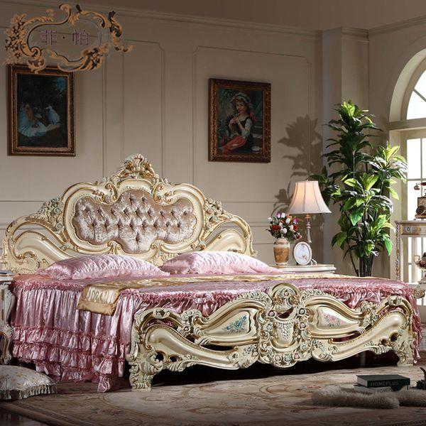 Camera Matrimoniale Stile Antico.Acquista Mobili Antichi Camera Da Letto Mobili In Stile Europeo
