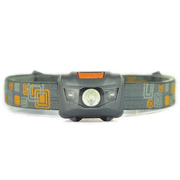 Le meilleur CREE R3 + 2LED 800 lumens 4 modes mini phare extérieur phare portatif lampe lanterne portative pour la chasse, utilisation pile AAA