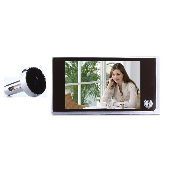 New video eye peephole door camera 3.5 inch LCD 0.5 Megapixels camera 120 degree widen viewing angle electronic eye