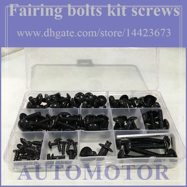 top popular Fairing bolts full screw kit For YAMAHA FJR1300 06-12 FJR 1300 FJR-1300 06 07 08 09 10 11 12 2006-2012 1A233 Body Nut Nuts bolt screws 2021