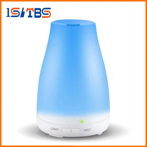 Stock 100ml 7color Essential Oil Diffuser Portable Aroma Humidifier Diffuser LED Night Light Ultrasonic Cool Mist Fresh Air Spa Aromatherapy