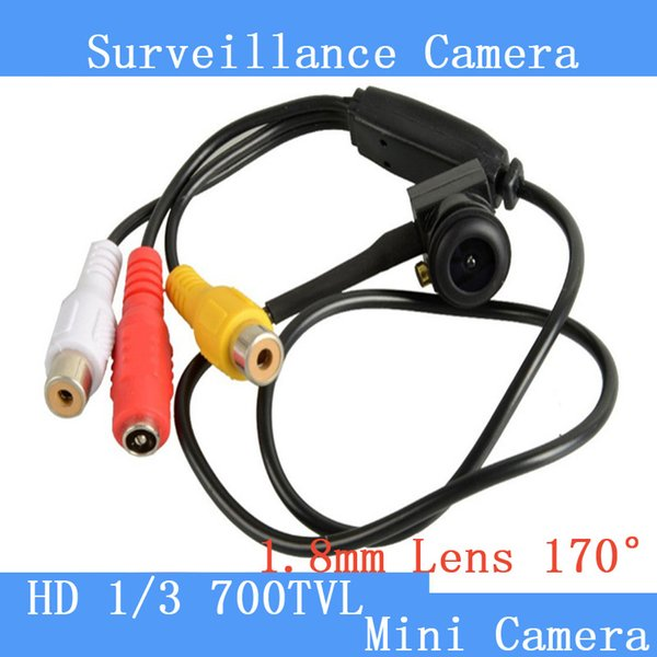 Pinhole Camera 1280 x 960 New Micro Camera HD 5MP Mini CCTV Security Video surveilance Micro 700TVL Smallest Camera Wide Angle Fish lens