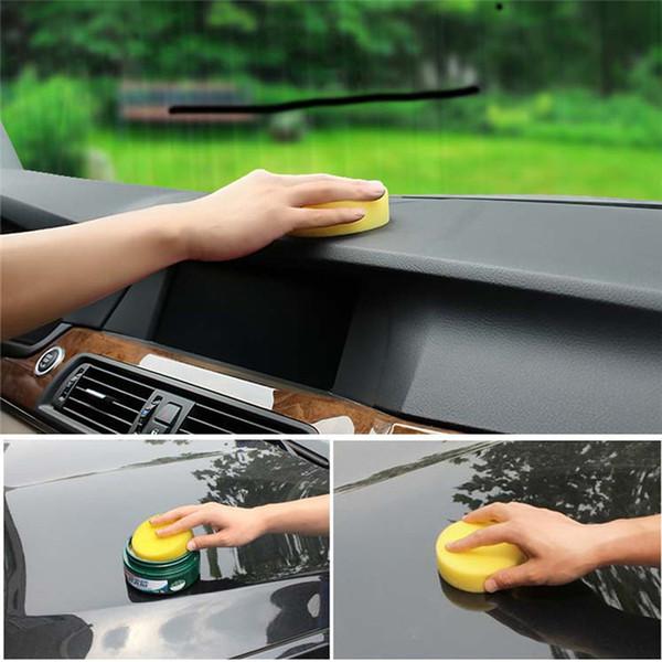 Toptan-2017 yeni 10 Adet Araba Ağda Polonya Köpük Sünger Wax Aplikatör Temizleme Detaylandırma Pedleri toptan araba aksesuarları