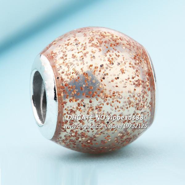 2017 Rose Fashing Beads Charm beads 925 Sterling Silver For Pandora DIY Jewelry Bracelets Beads & Jewelry Making