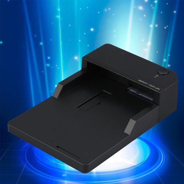 Wholesale- Custodia rigida per dischi rigidi esterni SATA Custodia disco SSD per dischi rigidi USB3.0 Indicatore LED
