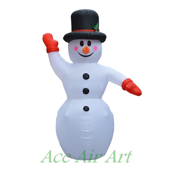 2017 hot selling inflatable Christmas decoration,Christmas Snowman,large outdoor Xmas decorations