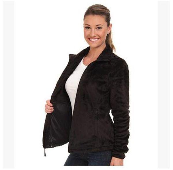 best selling 2017 New Winter Womens Fleece Osito Jackets Fashion Soft Fleece Warm Slim Coats Outdoor Ladies Brand Mens Kids bomber Jacket Women Down Coat