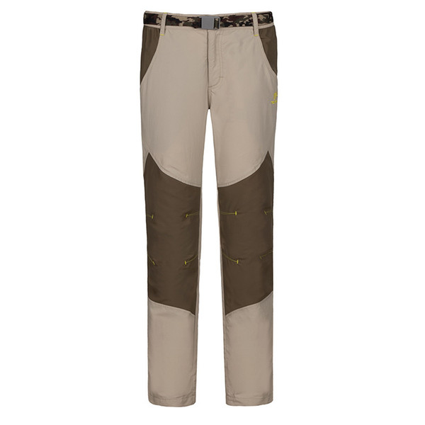 Wholesale-TECTOP Ultradünne Ourdoor-Hosen-Männer-Kontrast-Farbe-schnelle trockene Hosen, die kampierende wasserdichte Hose PS4081 klettern