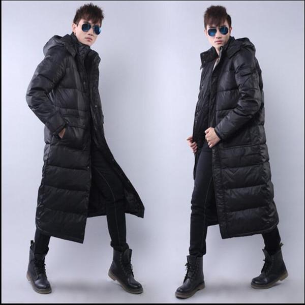 Long Down Coat For Men