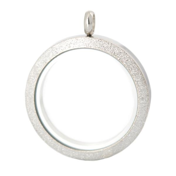 2016 venda Quente 30mm parafuso 10 pcs MATT memória de aço inoxidável de vidro medalhão de vidro pingente, medalhão de vidro encantos flutuantes para as Mulheres