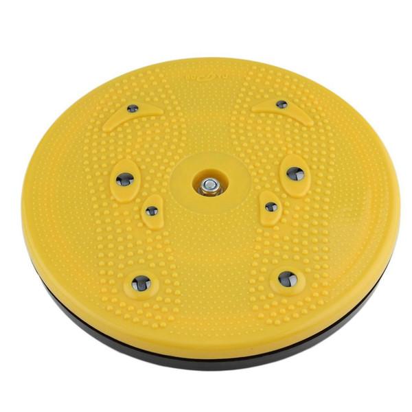 Al por mayor- 2017 Práctica Torcedura Cintura Torsion Disc Board Magnet Aerobic Foot Exercise Yoga Training Salud Torcedura Cintura Junta Envío Gratis