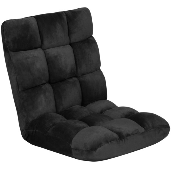 Surprising Best Choice Products Adjustable Memory Foam Cushioned Gaming Floor Chair Black Dropship Buy Cheap Lawn Chair Pads Seat Cushions For Outdoor Chairs Forskolin Free Trial Chair Design Images Forskolin Free Trialorg