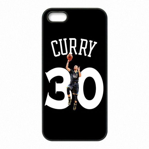 Téléphone MVP Stephen Curry Coques Coques Rigides Coques en plastique dur pour iPhone 4 4S 5 5S SE 5C 6 6S 7 Plus iPod Touch 4 5 6