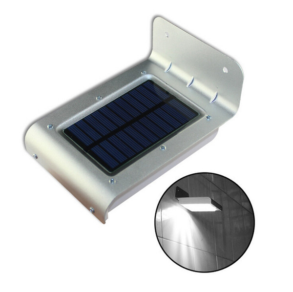 16 LED Solar Power Light Outdoor Waterprof Body Motion Sensor Wall Lamp Camping Garden Light Energy-saving Lamps Warm / Pure / Cold White