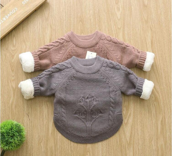 best selling New brand autumn winter children sweaters knitwear infant baby boys girls sweater kids sweaters child clothes Free shipping