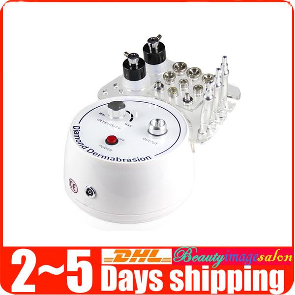 Hot Sale 3in1 Diamond Dermabrasion Microdermabrasion Facial Peeling Skin Rejuvenation Lifting Vacuum Spray Beauty Machine Spa
