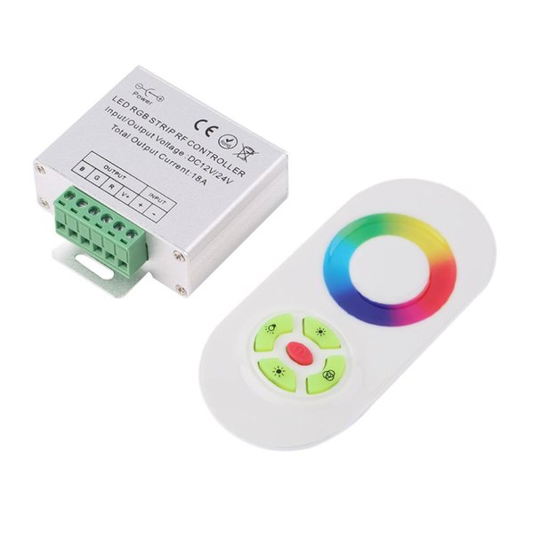 Wireless RF SMD RGB led strip light Touch Dimmer Remotely Controller, DC strips remote control for RGB LED Strip Light