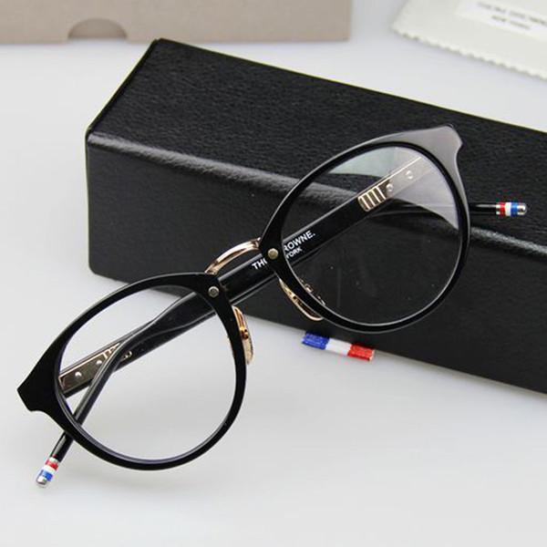 Vendita calda TB008B Retro Moda Occhiali Oculos De Grau Femininos TB Occhiali New York Computer di Marca Telaio Ottico 50mm spedizione gratuita