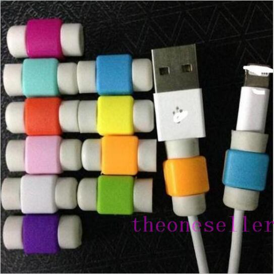 2016 new Lightning I line set -Iphone data cable savior for iPhone SE 6S 6 plus 5S Charging Cable Protector Saver 1000pcs/lot