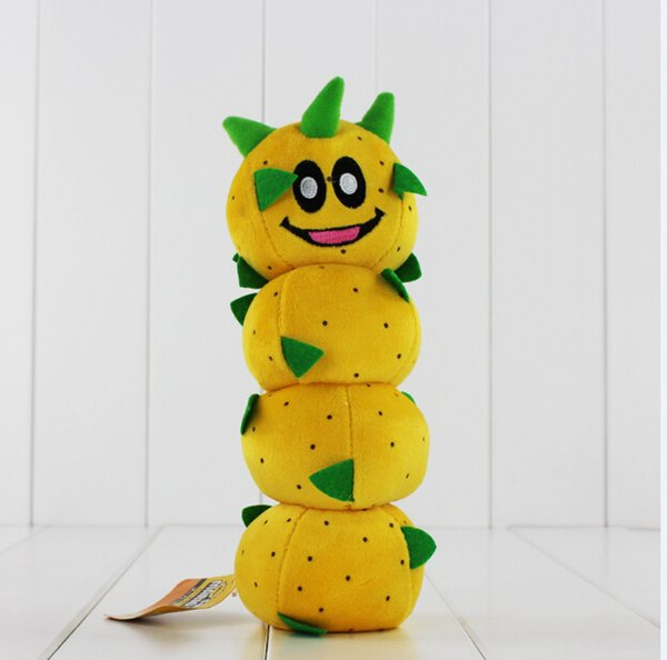 New Arrival Super Mario Bros Caterpillar Pokey Sanbo Cactus Plush Doll Toy 23cm 10PCS Free Shipping
