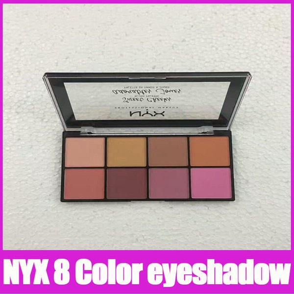 2017 new NYX SWEET CHEEKS BLUSH PALETTE eight highly pigmented and buttery-smooth colors that flawlessly suit any skin tone