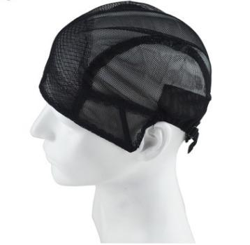 Professional weaving net wig cap cheap human hair mesh lace closure netting black weave making cap MOQ 3pcs SR 30005