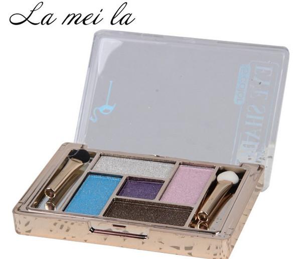 Makeup Waterproof colourpop Eyeshadow Pressed Powder Eyeshadow Kit Eye Shadow Palette Beginners essential HOT NEW 5 Colors High-quality!