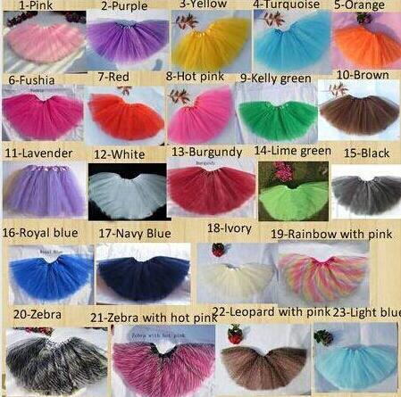 wholesale Baby TuTu Skirts pettiskirt girls' skirts for kids Chiffon Ruffles skirts/Girls Kids Tutu Party Ballet Dance Wear Skirt Pettiskirt