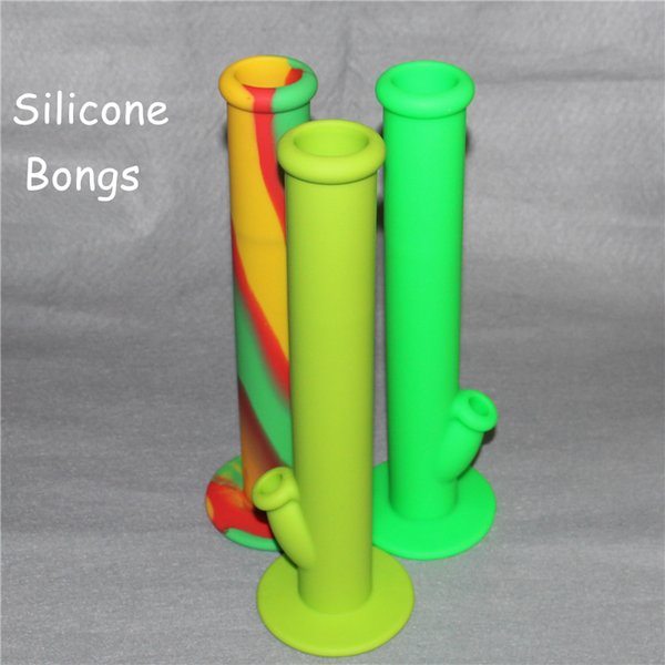 2016 New style Hot Sale Silicon Water Pipes glass bongs glass water pipe silicone water pipes good quality and free shipping DHL