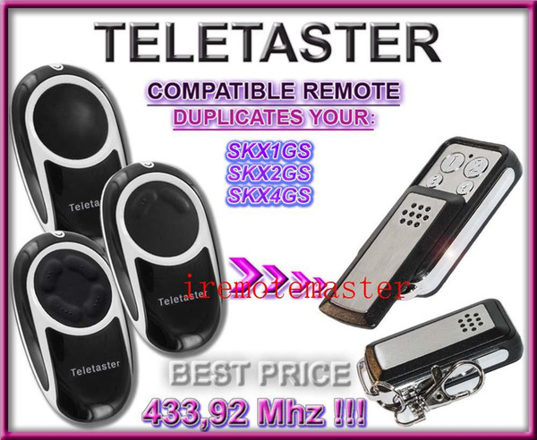 Hot! For Teletaster SKX1GS/SKX2GS/SKX4GS remote control replacement
