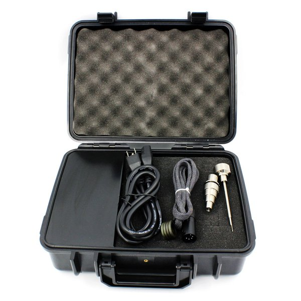 New USA and EU market Majesty Pelican Case Temperature Controller Box with coil heater and ti nail DHL free shipping