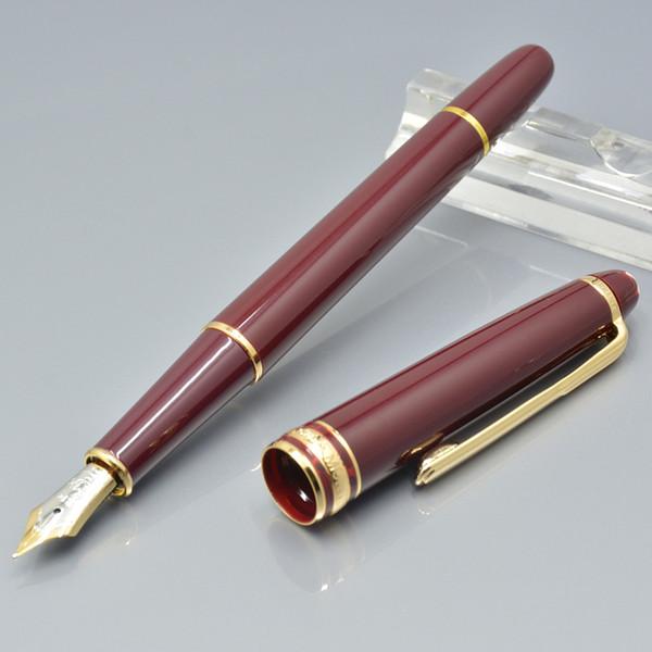 vendita calda 163 vino rosso penna a sfera in resina / penna a sfera / penna stilografica cancelleria per ufficio di lusso signora scrittura penne a inchiostro regalo M8