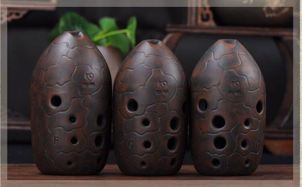 Ancient Ocarina flute music instrument for beginner nice A Chinese Imitation copper Xun