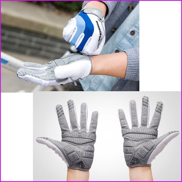 GEL Full Finger Cycling Sports Gloves MTB Bike Gloves, Bicycle Ciclismo Racing Sport Breathable Thin Glove