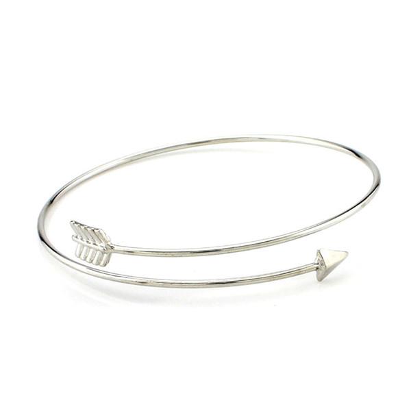 bracelet argent fleche
