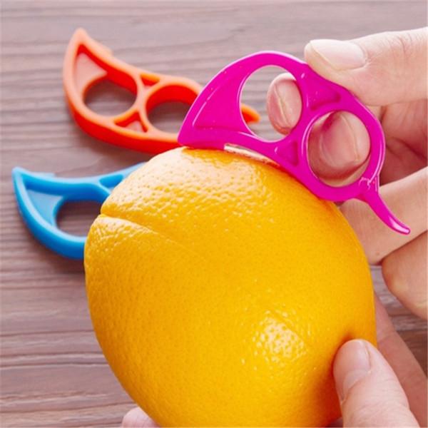 3 pcs / lot Lemon Orange Peeler Facile Opener Cuisine Outils Aide Fruits Légumes Outils a461-a466