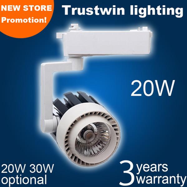 Schienenstrahler Weiße Deckenleuchte LED-Schienenstrahler LED-Schienenstrahler COB 20W LED-Schienenstrahler