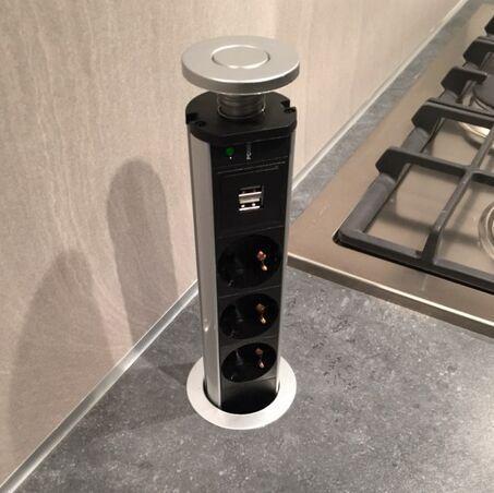 Stecker Uk Adapter Steckdose / Pop Up Steckdose Steckdose Küche  Schreibtisch Arbeitsplatte 2 USB 3 Stecker Neu Stecker Adapter Neuseeland  Von ...