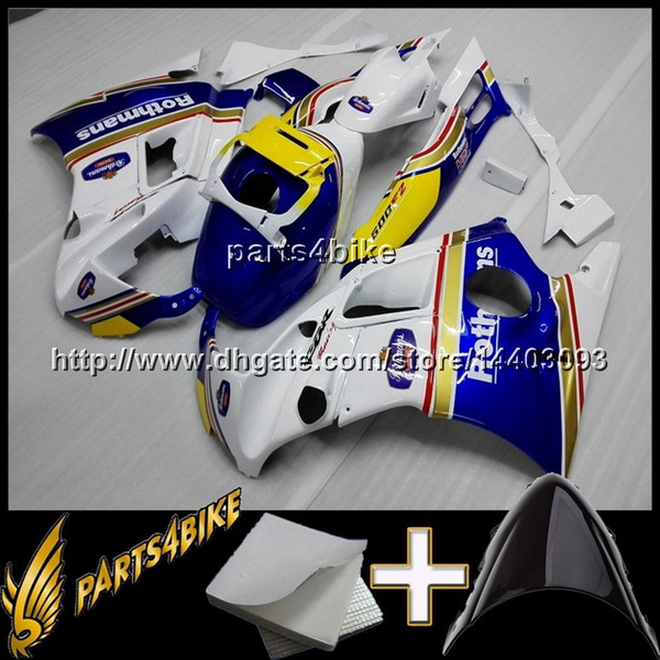 23colors+8Gifts black blue ABS Motorcycle Fairing for CBR600F2 91 92 93 94 Body Kit Motorcycle Fairing for Honda CBR600 CBR 600 F2 1991