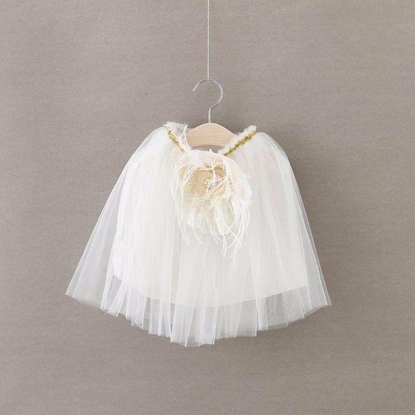 EMS DHL Free shipping 2016 Summer New Girls Princess Skirts Lace Flower TUTU Skirts Summer Style tutu Skirt