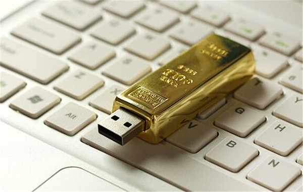 10pcs epacket/post 100% Real Capacity Gold bar 1GB 2GB 4GB 8GB 16GB 32GB 64GB 128GB 256GB USB Flash Drive Memory Stick with OPP Packaging 01