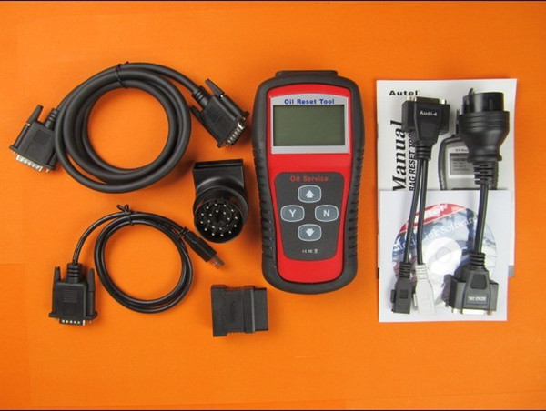 airbag reset new airbag programmer Autel Oil Reset Tool Scan Tool Diagnostic OBDII Code Reader Oil Light and airbag reset Service scanner