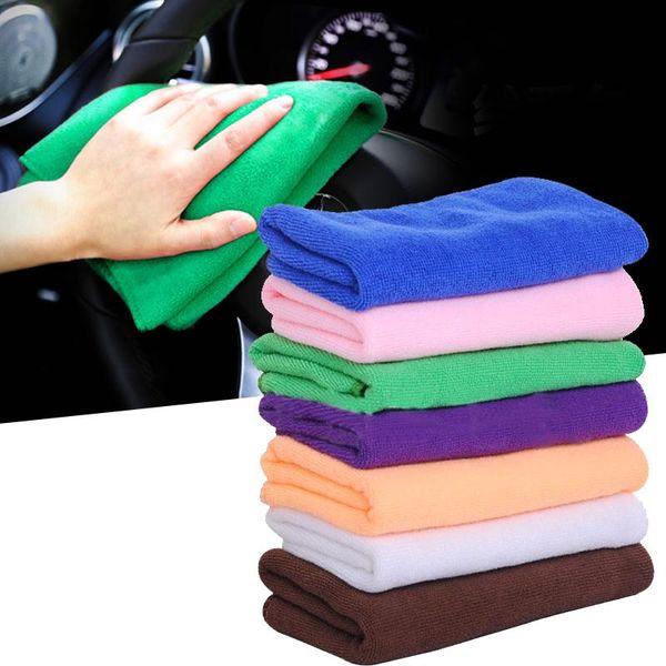 Venda por atacado - Auto Care 32Pcs Microfibra Super Car Cleaning Cloth Care Car Microfibra Wax Polishing Detalhando Toalha Duster Wiper