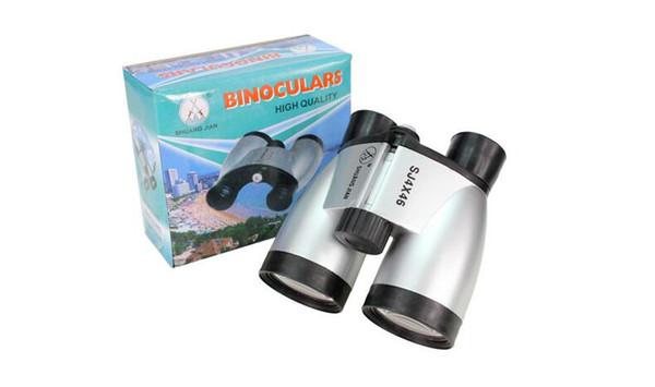 top popular The new exquisite double tube binoculars children outdoor toys telescope wholesale distance adjustable telescope children exploration hot ou 2021