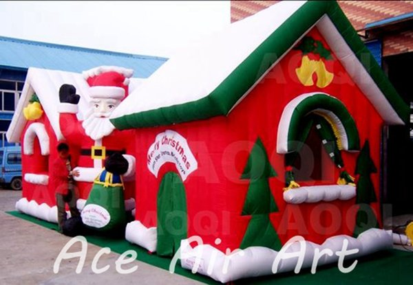 Chri tma decoration commercial inflatable xma anta 039 grotto