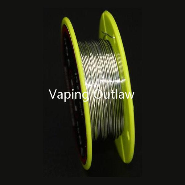 Wholesale- 100% Authentic Youde UD Stainless Steel SS316L Wire 32ga 30ga 28ga 26ga 24ga 30ft 10m/roll Heating Resistance Wire