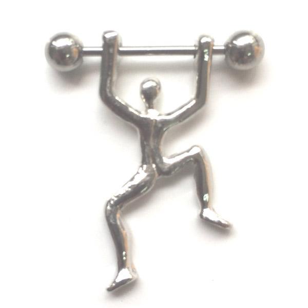 D0167 (1 color) anillo del pezón del estilo de la gente La joyería Piercing del cuerpo del botón del vientre cuelga el encanto de la manera de los accesorios (10pcs / lot) JFB-6160
